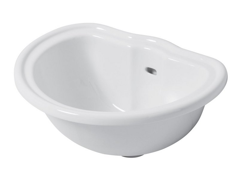 RETRO' DECK-MOUNTED WASHBASIN 50X41