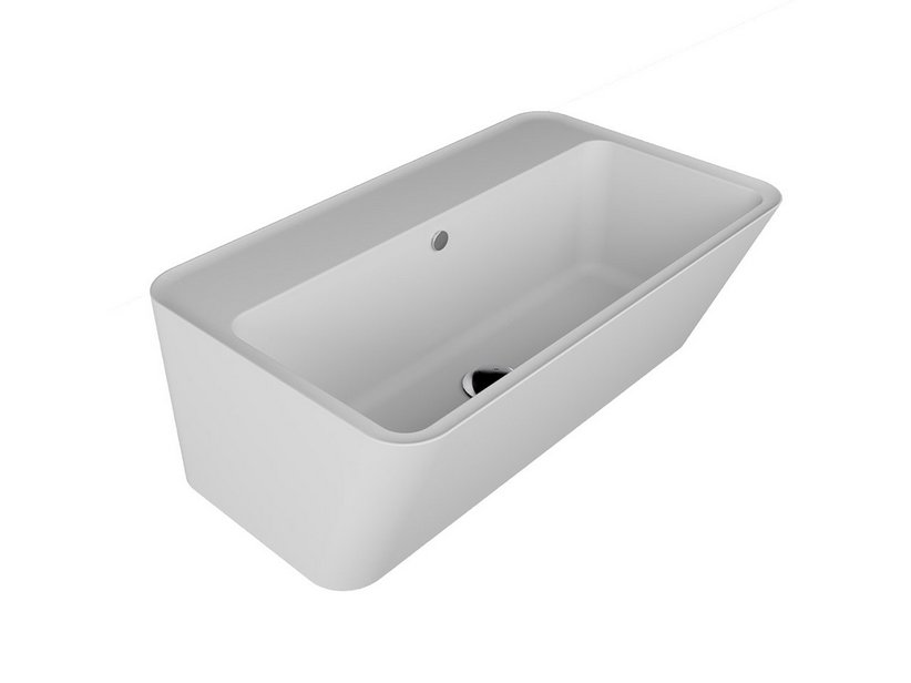 WYNN WASHBASIN 70x40xH.25 WHITE MATT