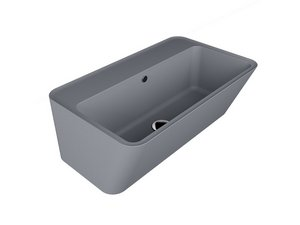 WYNN WASHBASIN 70x40xH.25 GREY MATT
