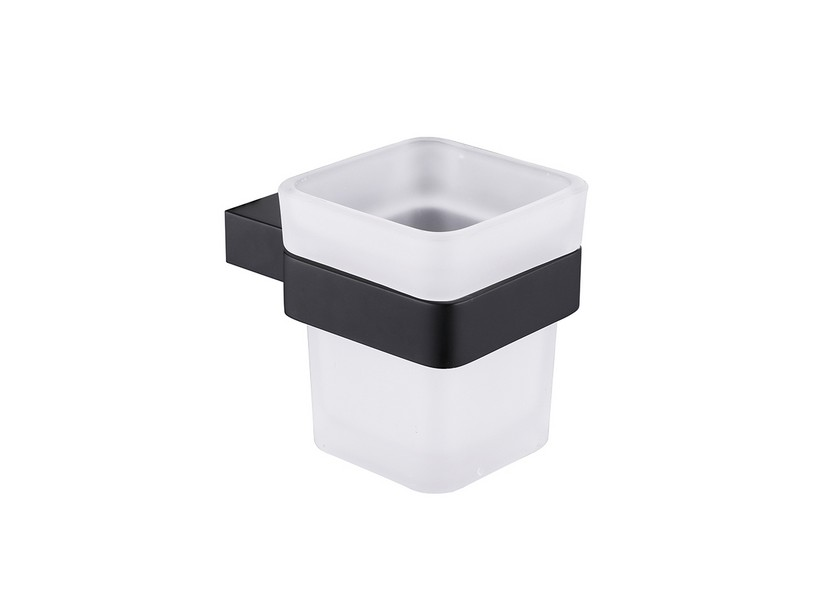 LILIAN CUP HOLDER BLACK MATT