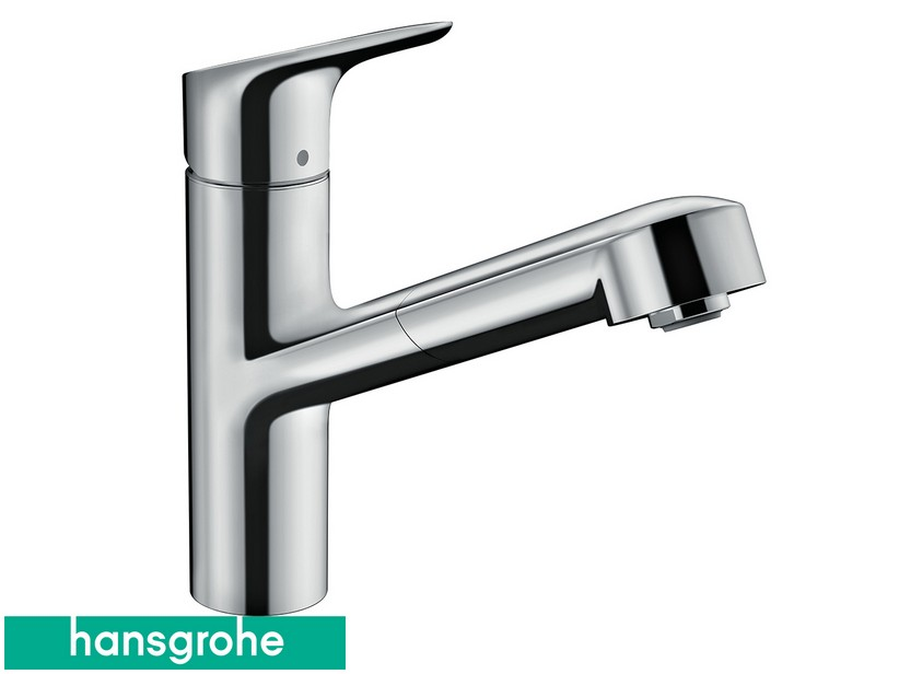 HG M43 7 - H150 PULL-OUT KITCHEN TAP MIXER