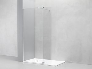 LUX WALK IN 8mm FREESTANDING SHOWER