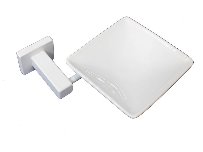MADISON SOAP DISH WHITE MATT