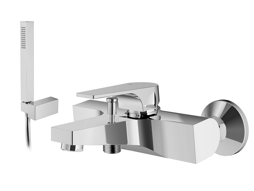 BATH MIXER WITH SHOWER KIT CHROME URA