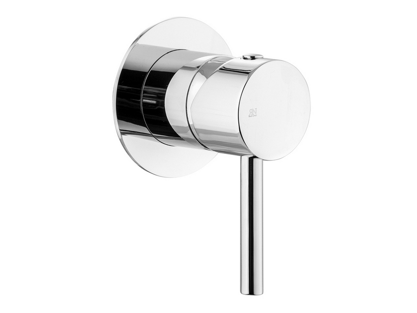 BUILT-IN SHOWER PLATE MIXER CHROME STELO