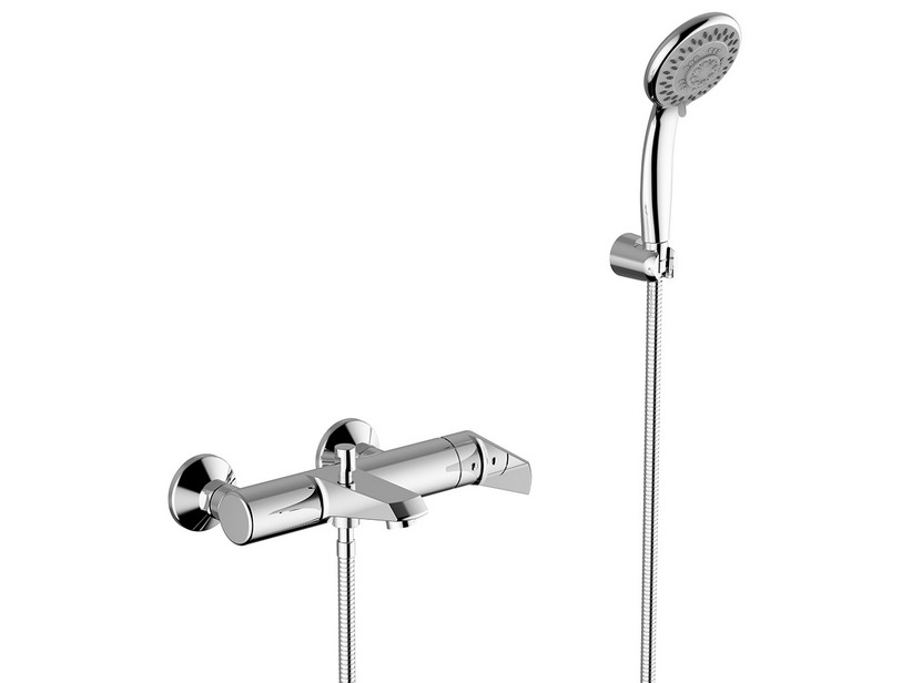 BATHTUB MIXER EUGENE WITH HAND SHOWER CHORME