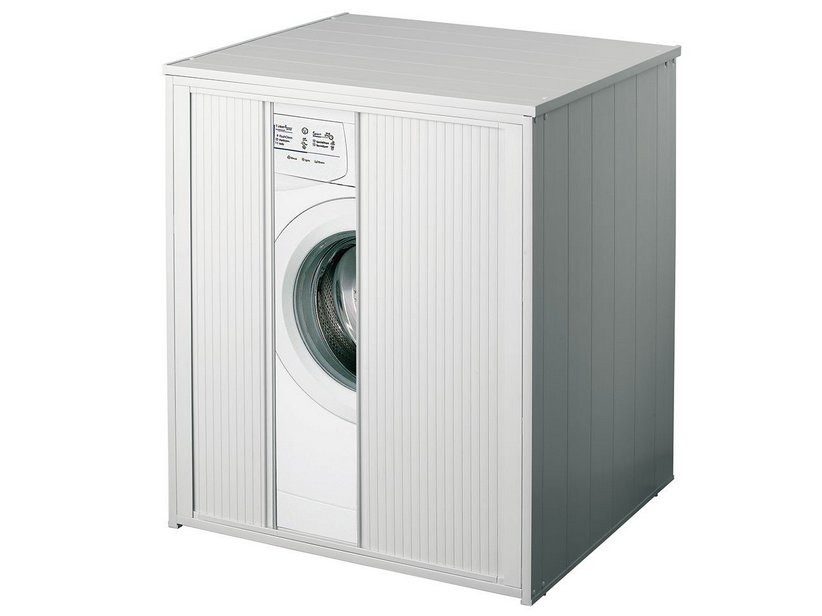 BEATRICE WASHER CABINET WHITE LVT