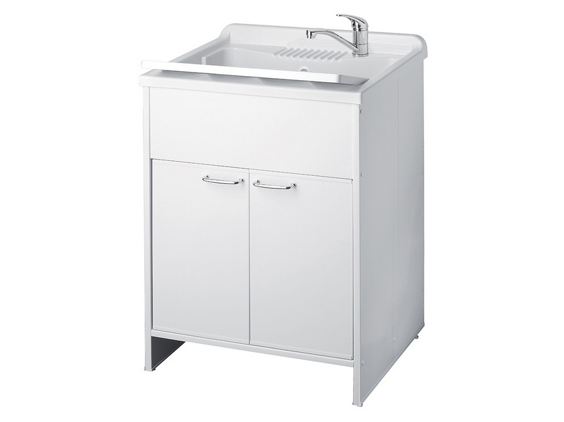 GARDEN OUTDOOR ABS LAUNDRY SINK CABINET 60x60