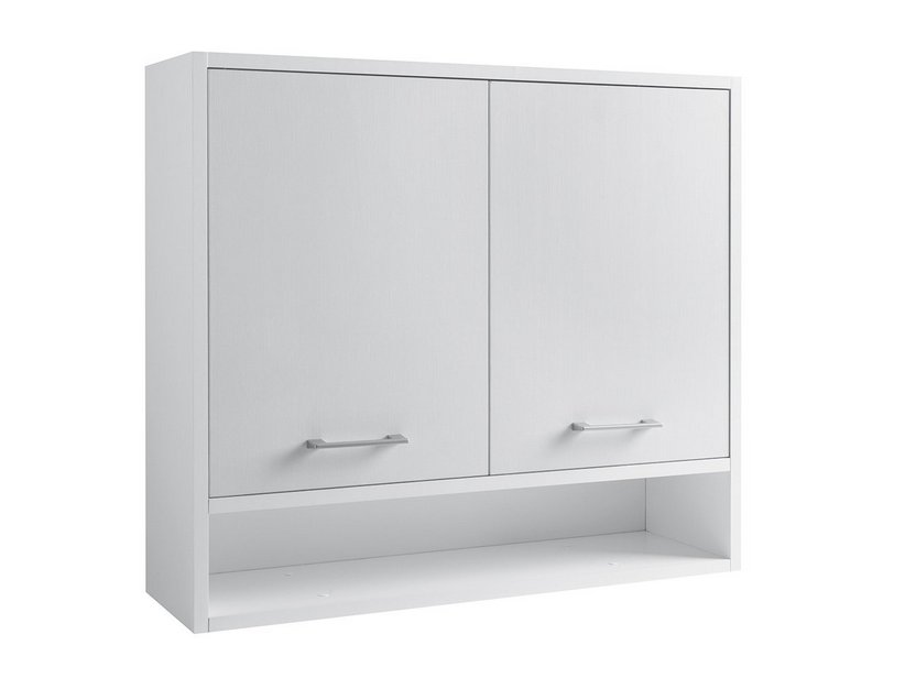 DOMESTICA WALL UNIT 80X70X22 WHITE CHIPBOARD