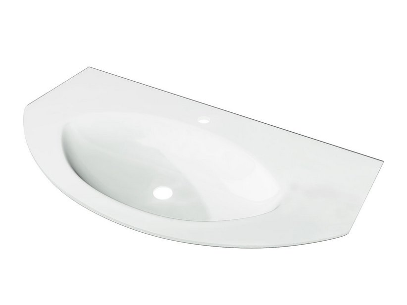MODO TOP GLASS 92x52 WHITE EXTRA-LIGHT
