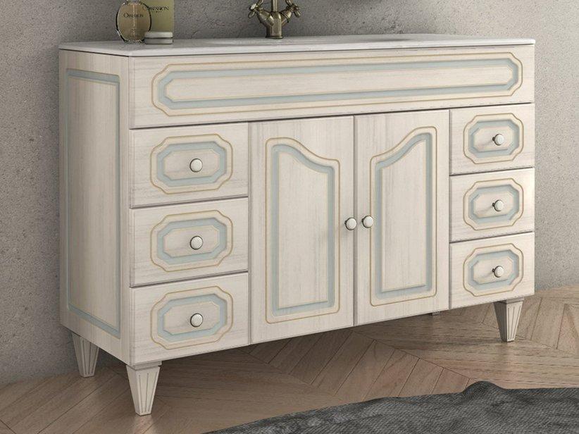 Monet base lavabo 120 2 ante 6 cassetti decape 39 iperceramica - Mobili bagno decape ...
