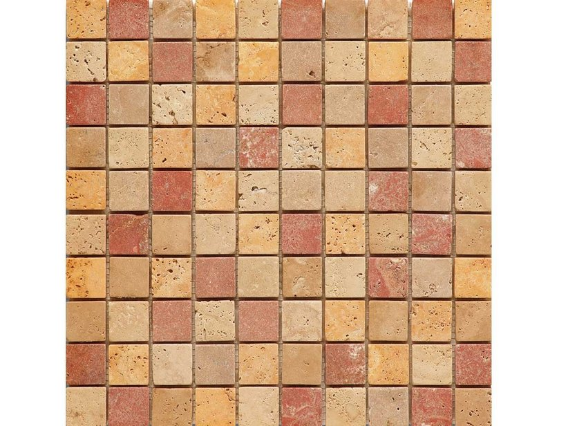 MOSAICO CESENA TRAVERTINO MIX 30,5x30,5