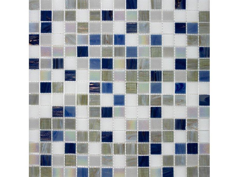 Bagni Blu Mosaico : Mosaico vetro leisure blu iperceramica