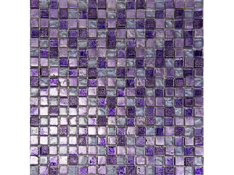 MOSAIK MAYA PURPLE 30X30