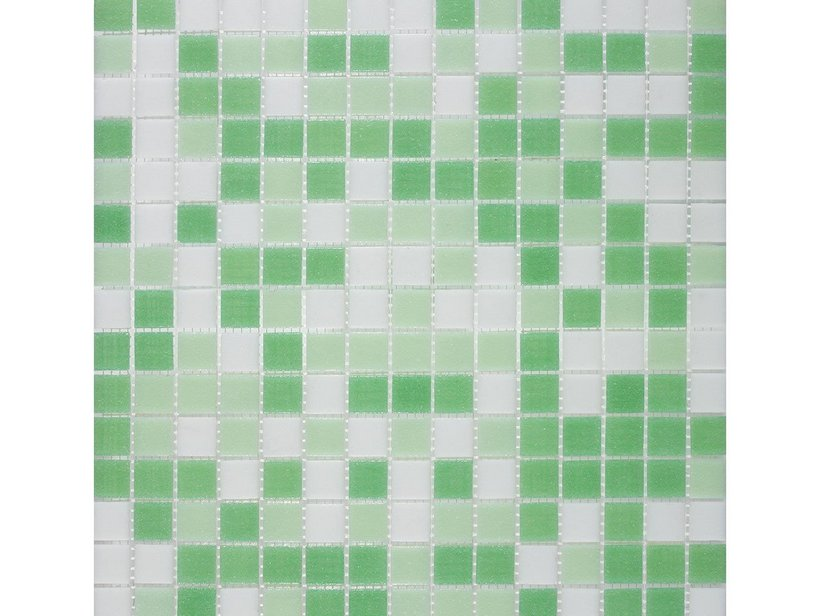 MOSAIK VETRO M4 MIX GREEN