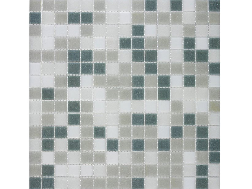 MOSAIK VETRO M10 MIX GREY