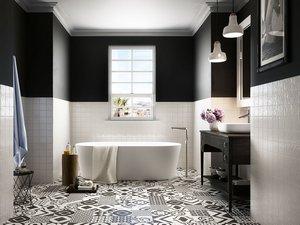 Bagno Chic Opinioni : Rivestimenti bagno rendi unico il tuo bagno iperceramica