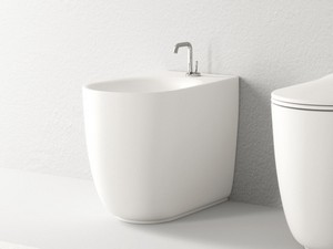 NOLITA FLOOR-MOUNTED BIDET WHITE MATT
