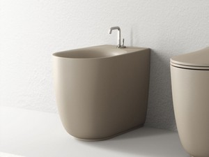 NOLITA FLOOR-MOUNTED BIDET NOISETTE MATT
