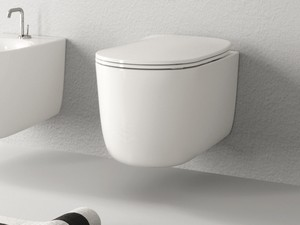 NOLITA RIMLESS WALL-HUNG PAN WHITE