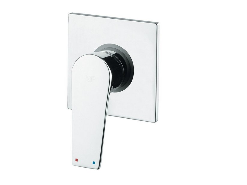 NOVELLA SHOWER MIXER PLATE CHROME