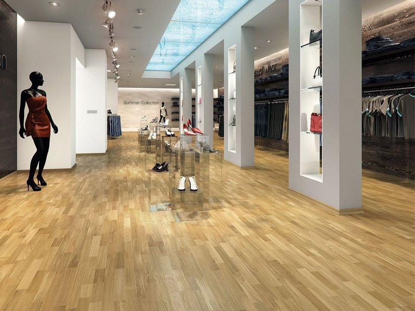Parquet in rovere strip prezzo incredibile iperceramica