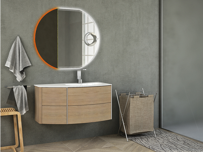 OLAS curved Bathroom furniture