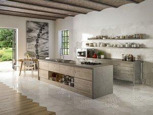 Rivestimento cucina piastrelle e mattonelle iperceramica