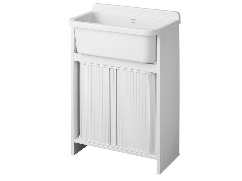 ORAZIO LAUNDRY SINK SAVE SPACE 55xP35 WHITE