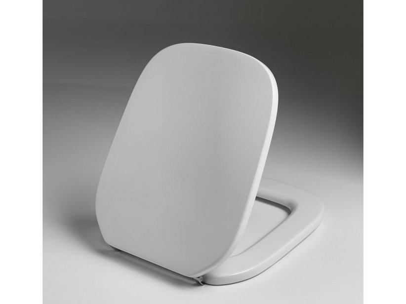 OSLO RESIN TOILET SEAT WHITE WITH SOFT-CLOSE