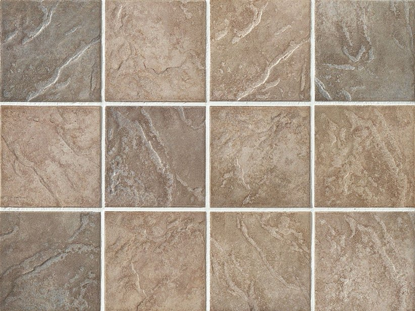 Piastrella Capri Brown 10X10 in Gres Procellanato Marrone