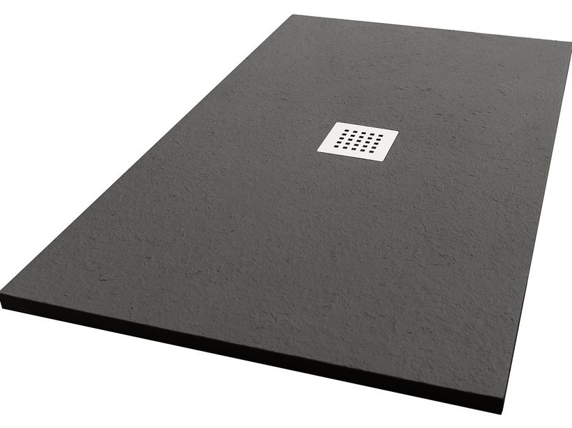 SHOWER TRAY PETRA COLOR 90x150 GRIGIO CARNICO