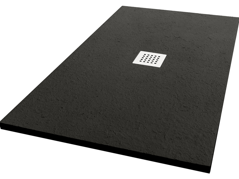 SHOWER TRAY PETRA COLOR 70x90 NERO AFRICA