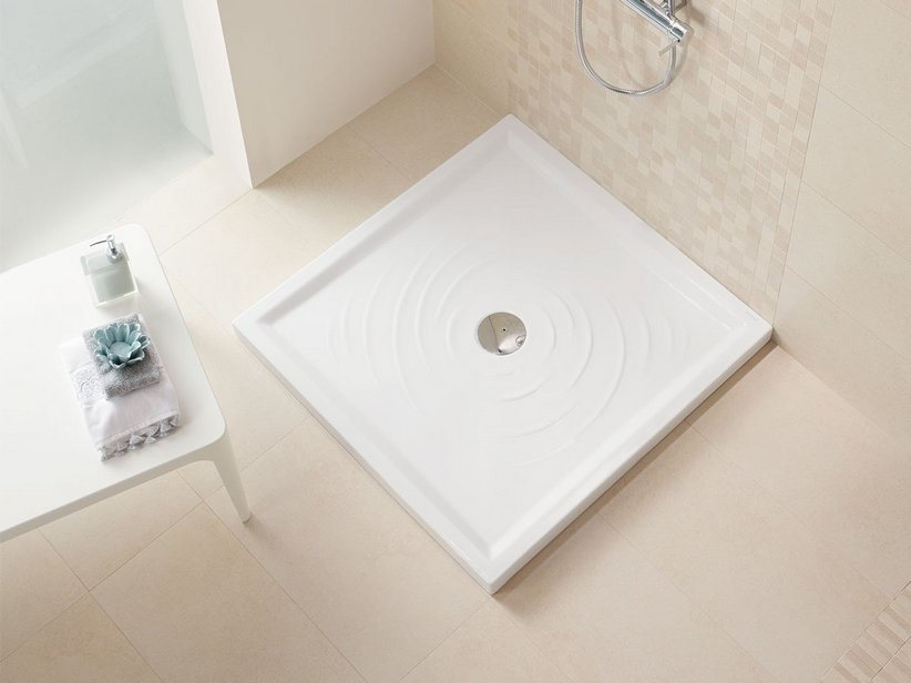 AQUA SHOWER TRAY 90X90