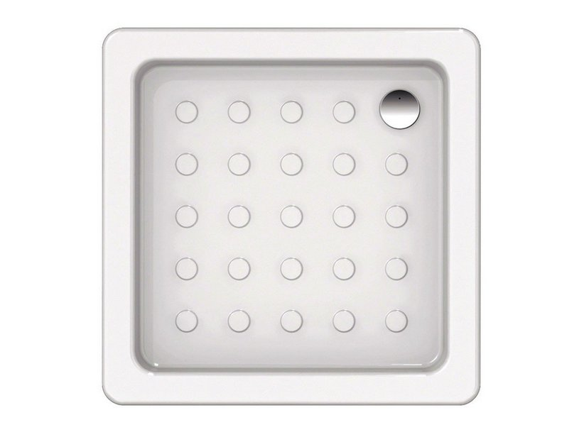 CONTRACT BOLLE SHOWER TRAY 70x70xH10 WHITE