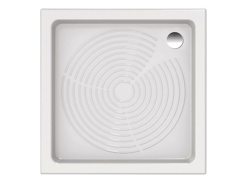 CONTRACT CERCHI SHOWER TRAY 90x90xH11 WHITE