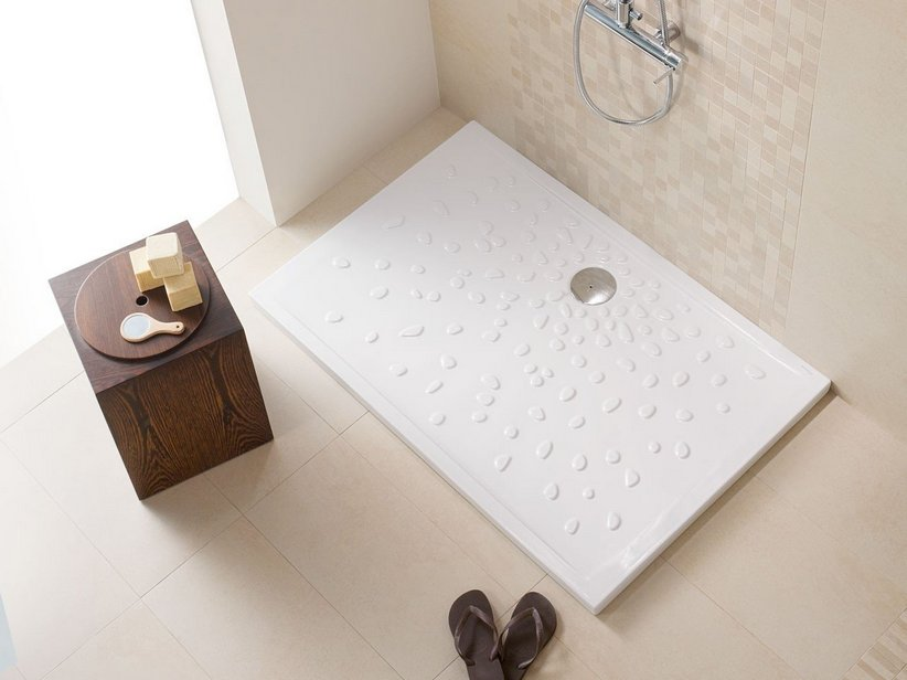 PADUA SHOWER TRAY 81X101 H4,5 WHITE