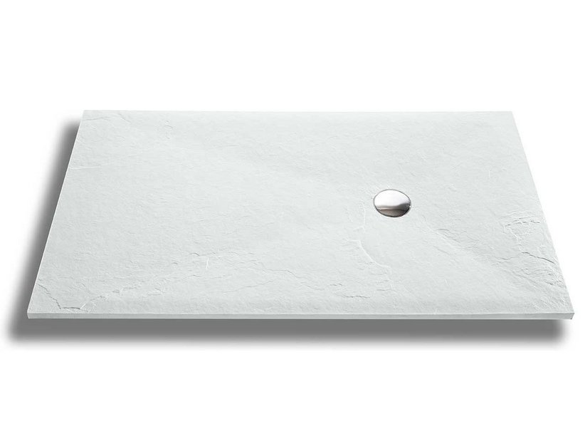 SLATE SHOWER TRAY 70x100 WHITE
