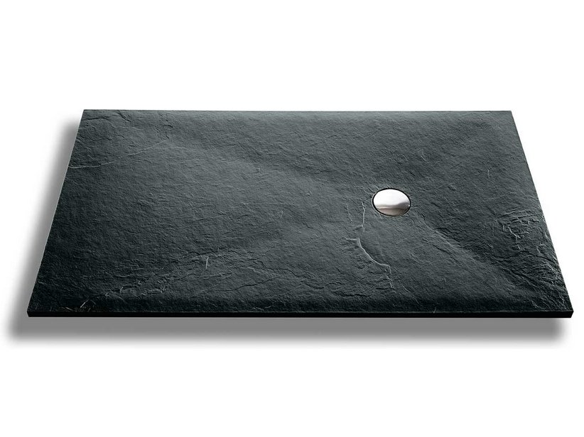 SLATE SHOWER TRAY 80x150 CARNIC GREY