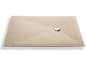 SLATE SHOWER TRAY 80x160 CREAM MARFIL