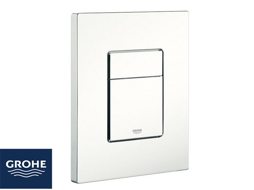 Placca Wc Grohe® Even 2 Pulsanti Bianca