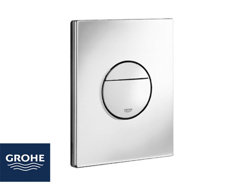 GROHE® SAIL DUAL FLUSH PLATE CHROME