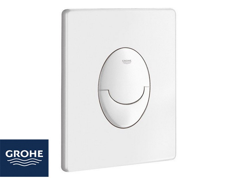 GROHE® START DUAL FLUSH PLATE WHITE