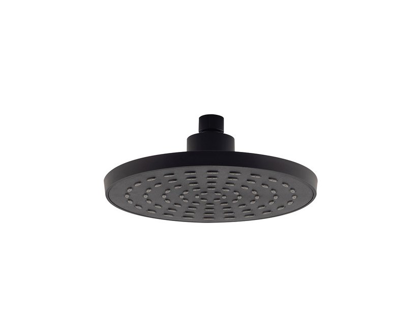 PLATO SHOWER HEAD ABS BLACK MATT