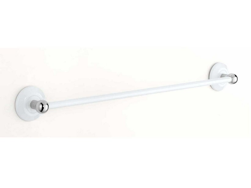 DIANA TOWEL RACK cm 50 WHITE/CHROME