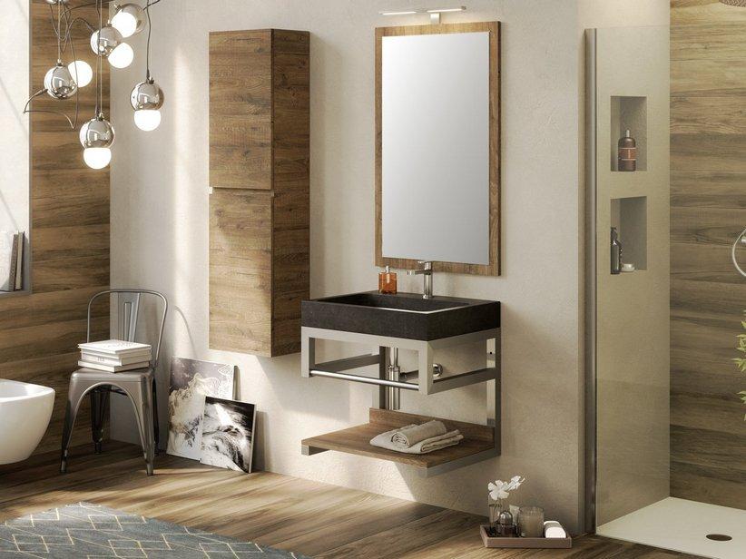 Lavabo bagno in pietra lavabo in pietra e sanitari neri lavabo