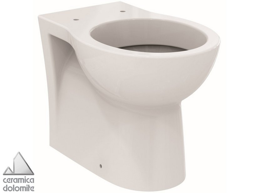 Sanitari Filo Muro Ideal Standard.Ideal Standard Quarzo Back To Wall Pan With Shift Drain System Iperceramica