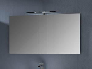 Specchi per bagno con luce o senza iperceramica
