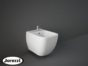JACUZZI® RAY WALL-HUNG BIDET cm. 52,5x34 HIDDEN FIX