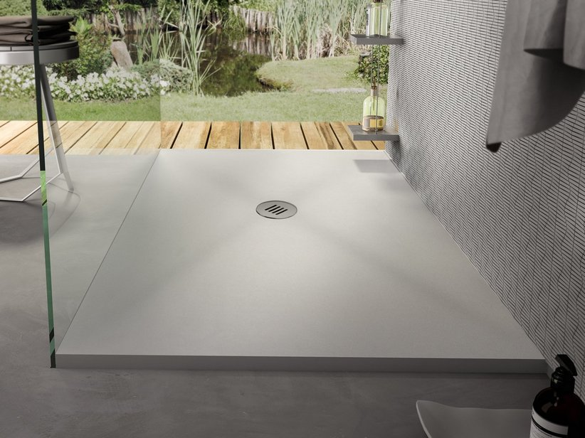 SAHARA SHOWER TRAY 70x90 WHITE